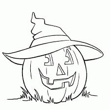 Kleurplaat Halloween Pompoen Archidev Nieuwe Pompoen Tekening