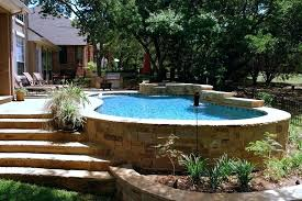 semi inground pool cost. Semi Inground Pools Cost Ottawa Pool