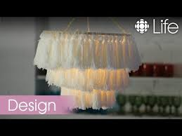 how to make a tassel chandelier cbc