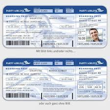 Einladungskarten zum geburtstag ▶ jetzt online gestalten. Flugticket Boarding Pass Zum Geburtstag Mit Ihren Bildern 1001karte