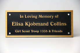 to enlarge image plaque park bench name collins white