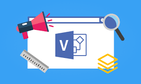 Click and draw a line on the document. 10 Visio Tips For The Electra E8 User