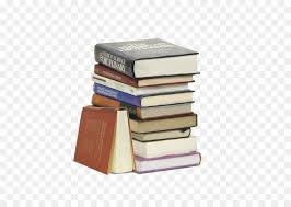 book fish l a stack of books