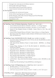 Plumbing Engineer Sample Resume