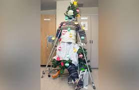 hospital christmas decorations made