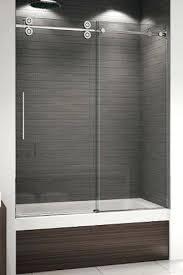 sliding glass tub enclosures kinetic bathtub enclosure sliding frosted glass bathroom doors sliding glass bathtub enclosure