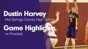 Game Highlights vs Pinedale - Dustin Harvey highlights - Hudl