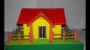 How To Make House With Chart Paper How To Make Paper House