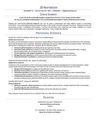 Resume For Administrative Position Best Sample Resumes ResumeWriting