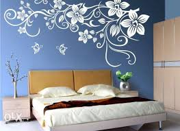 Bedroom Wall Painting Designs Entrancing Wall Painting Designs For Fascinating Bedroom Wall Painting Designs