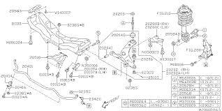 20204aj000 genuine subaru bushing transverse link,front 2010 Subaru Forester Engine Diagram 2010 subaru forester front suspension diagram 200_01 2010 Subaru Forester X Limited