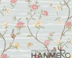 New Design Floral Floral Bird New Designs Modern Removable Wallpaper