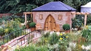 garden building. Brick And Stone Garden Building D