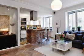 Interior Design For Small Living Room And Kitchen Interior Design Small Living Room With Kitchen