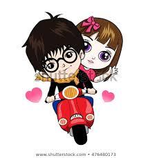Love Cartoon Vector 40 Stock Vector Royalty Free 40 Simple In Love Cartoon