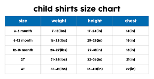 Glasses Size Chart Kids Sunglasses Size Chart Size Charts For Shirts And Shoes