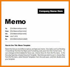 Word Memo Template New Memos Format Denmarimpulsarco