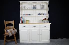 amazing dresser with shelf country pine display painted vintage antique on top and drawer mirror above