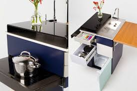Micro Kitchen This Ultra Compact Micro Kitchen Unfolds Like A Swiss Army Knife
