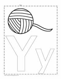 Free printable phonics flashcards,handouts, posters, worksheets, phonics games and other printables to support your phonics lessons and current curriculum. The Letter Y Coloring Page Worksheets