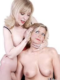 Nina Hartley and Lya Pink lesbian teasing and pleasing Pichunter.
