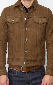 men s zan nubuck leather jacket