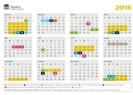 2016 School Calendar Lake Munmorah Public School