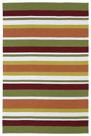kaleen rugs orange red ivory striped rug posh reviews