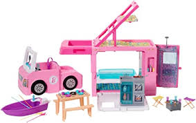 Amazon.com: ​Barbie <b>3-in-1</b> DreamCamper Vehicle, approx. 3-ft ...