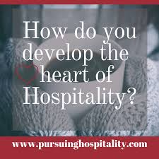 how to develop the heart of hospitality