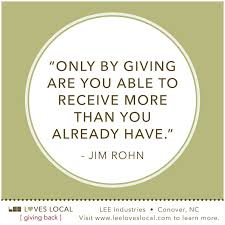 Quotes About Giving Back Inspiration Quotes About Giving Back Quotesgram Giving Back Quotes