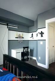 boys football bedroom ideas. Football Themed Bedroom Boys Grey And White With Decals Modern Classic Ideas
