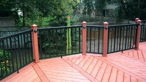 home depot deck railing systems glass