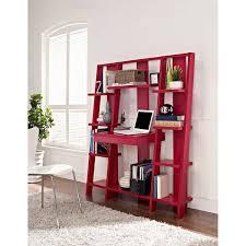 altra ladder bookcase desk