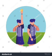 Referee Design Soccer Referee Design Stock Vector Royalty Free 1206956950