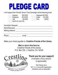 Fundraiser Pledge Form Template Pledge Card Template Church Pledge Form Template Hausn3uc Capital