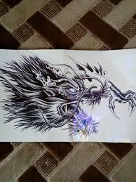 временная татуировка 3d дракон купить в интернет магазине Pandaoru по цене 87 руб