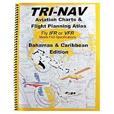 Amazon Com Tri Nav Bahamas Caribbean Flight Planning