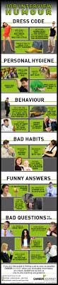 job interview humour infographic visual ly job interview humour infographic infographic