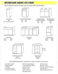 Kitchen Cabinet Dimensions Chart Standard Kitchen Cabinet Door Size See The Home Design