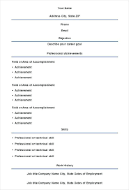 Professional Resume Template Pdf – Poquet