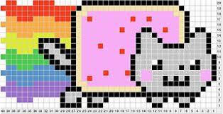 Ravelry Nyan Cat Chart Pattern By Tanya Luff