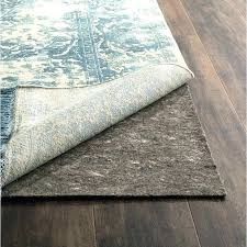 area rug pads for wood floors non slip pad best hardwood rugs safe be