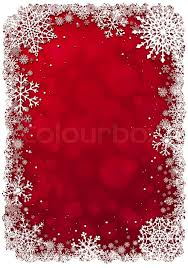 Red Christmas Background With White Stock Vector Colourbox