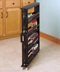 slim kitchen storage