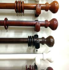 wood curtain rods rod supplieranufacturers at allen roth