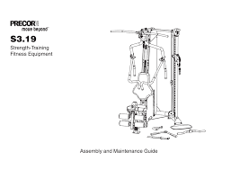 S3 19 Strength System Owners Manual Manualzz Com