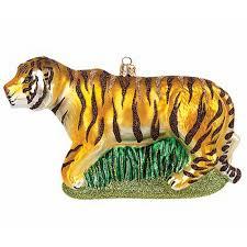 Weihnachtsbaumschmuck Tiger