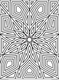 Small Picture printable geometric geometric patterns for kids to color coloring
