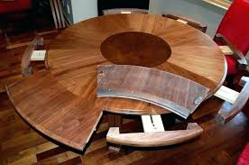 10 expanding round dining room table expanding